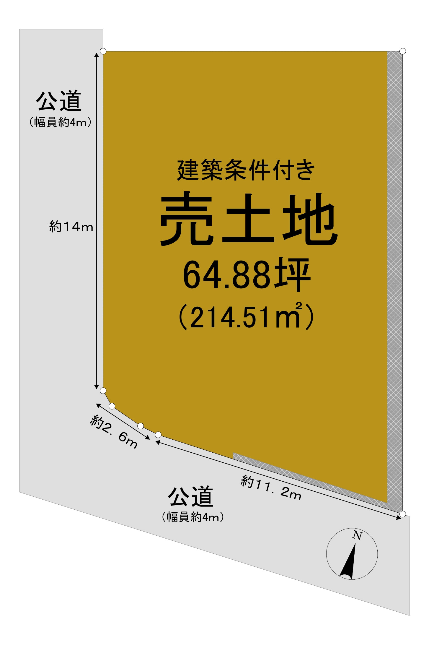 野上6-13土地図面